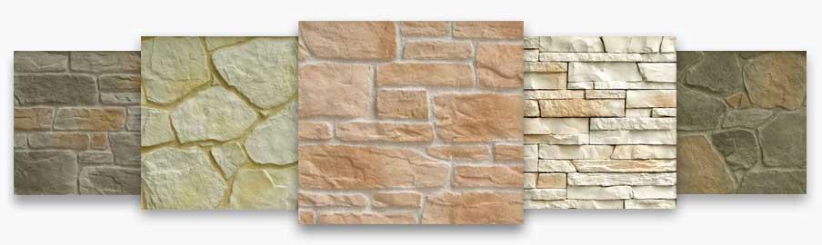 Rivestimenti in pietra ricostruita per esterni