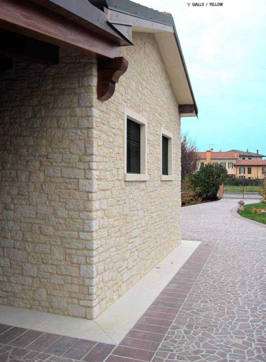 Utilizzo e posa dei rivestimenti in pietra - Pietra a vista per esterni ...